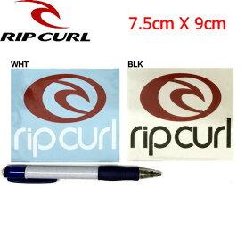 【RIP CURL】リップカール カッティングステッカー/2カラー ホワイト ブラック