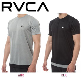 【RVCA】ルーカ RUNNER MESH SS メンズ 半袖Tシャツ メッシュシャツ トレーニング ウェア S・M・L 2カラー【あす楽対応】