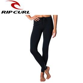 【RIP CURL】リップカール WOMENS UV SURF PANT レディース サーフパンツ レギンス スパッツ ラッシュガード ボトムス M・L