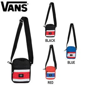 【VANS】バンズ 2019春 SPRING スプリング Tricolour Panel Mini Shoulder Bag メンズ レディース ショルダーバック バッグ かばん W14.5cmxH20.5cmxD5cm 3カラー