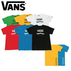 【VANS】バンズ 2020春夏 Primary Color S/S T-Shirt メンズ 半袖 Tシャツ ティーシャツ TEE トップス スケートボード アウトドア S/M/L/XL 4カラー【あす楽対応】