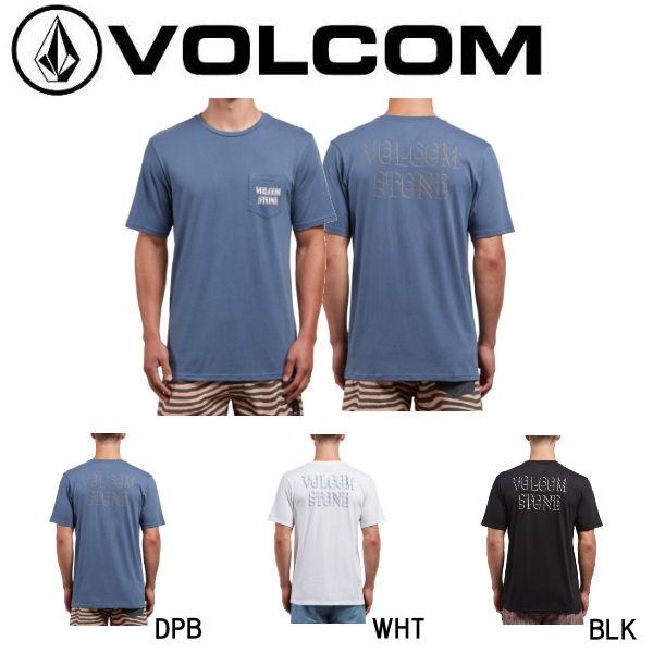 【VOLCOM】ボルコム 2018夏 サマー TRANSMIT S/S PCKT T メンズ 半袖Tシャツ ティーシャツ トップス S-XL 3カラー【あす楽対応】【正規品】