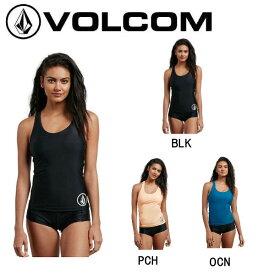 【VOLCOM】ボルコム SIMPLY SOLID TANKINI レディース タンクトップ ノースリーブ ラッシュガード サーフィン 定番 XS-M 3カラー