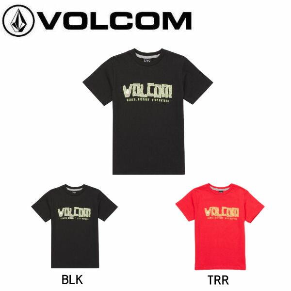 【VOLCOM】ボルコム 2018夏 サマー FREEDUMB S/S TEE YTH LY キッズ ジュニア 半袖Tシャツ ティーシャツ トップス 3-7歳 3T・4T・5・6・7 2カラー【あす楽対応】【正規品】