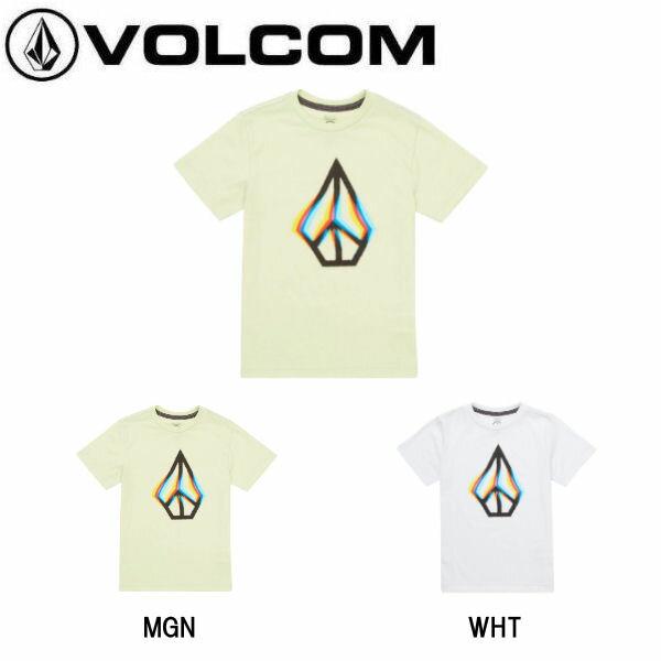【VOLCOM】ボルコム 2018夏 サマー PEACE BLUR S/S T YTH LY キッズ ジュニア 半袖Tシャツ ティーシャツ トップス 3-7歳 3T・4T・5・6・7 2カラー【あす楽対応】【正規品】