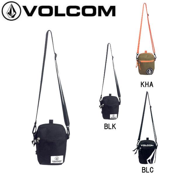 【VOLCOM】ボルコム 2018秋 FALL フォール STONE MINI BAG メンズ ショルダーバック バッグ かばん H17.5cmxW12.5cmxD4cm 0.8L 3カラー【あす楽対応】【正規品】