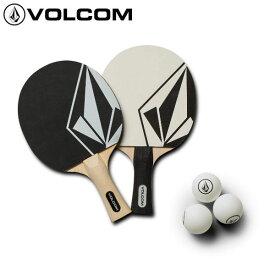 【VOLCOM】ボルコム STONE PING PONG SET 卓球セット ラケット ネット ピンポン玉 2人用