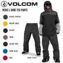 【VOLCOM】ボルコム 2020-2021 MENS L GORE-TEX PANTS メンズ スノーボード ウェア パンツ G1351904 スノー スノボー …