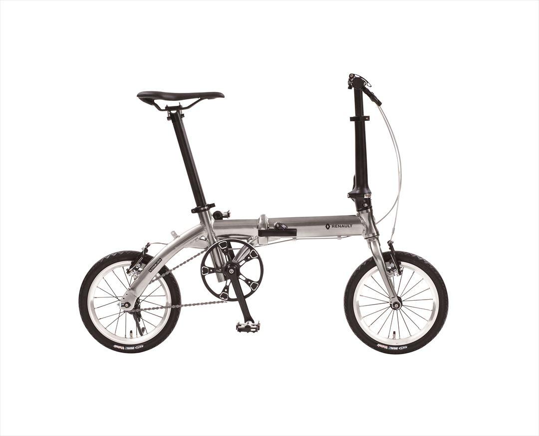配送先関東限定 2018年モデル【送料無料 自転車 ルノー(RENAULT)自転車】 折りたたみ自転車 PLATINUM LIGHT6(AL-FDB140)【14インチ 軽量 ギアなし 折りたたみ自転車】ルノー PLATINUM LIGHT6(AL-FDB140)(ライトシックス)