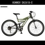 ハマー自転車HUMMERDH2618-E