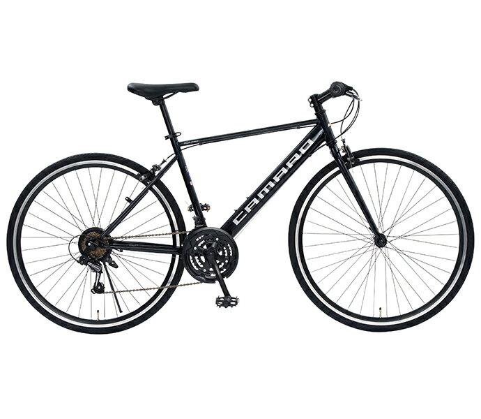 【スーパーセール 限定クーポン配布!】配送先一都三県一部地域限定 クロスバイク シボレー 2019年モデル CHEVROLET CAMARO CRB 7021 外装21段変速ギア 軽量 自転車 700c 自転車 おしゃれ