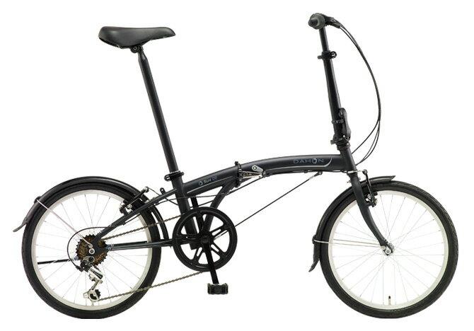 送料無料 折りたたみ自転車 DAHON SUV D6 ダホン 自転車 20インチ 折りたたみ自転車 外装6段変速ギアダホン 折りたたみ自転車 DAHON エスユーヴィー D6 18DAHON 18DAHON SUV Matt Black ブラック