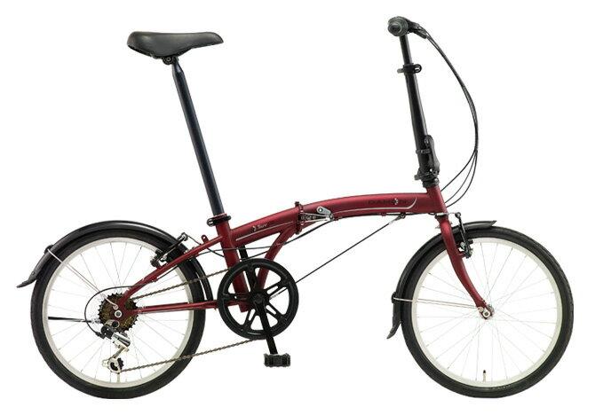 送料無料 折りたたみ自転車 DAHON SUV D6 ダホン 自転車 20インチ 折りたたみ自転車 外装6段変速ギアダホン 折りたたみ自転車 DAHON エスユーヴィー D6 18DAHON SUV-Mat Wine マットワイン 通販 おしゃれ