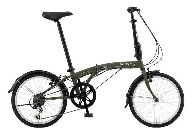 送料無料 折りたたみ自転車 DAHON SUV D6 ダホン 自転車 20インチ 折りたたみ自転車 外装6段変速ギアダホン 折りたたみ自転車 DAHON エスユーヴィー D6 18DAHON SUV-Mat Khaki マットカーキ