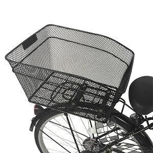 自転車ママチャリ後ろかご&設置サービス