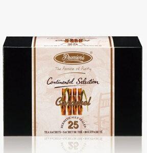 【高級インド紅茶】プリミアスティー コンチネンタルセレクション キャラメルティー25枚入り