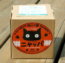 猫草 ニャッパ 国産大麦若葉【栽培2回分】 安心の猫の草!完全有機栽培 ヘルシーガーデン