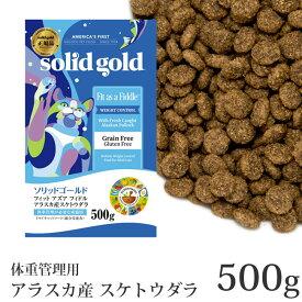 ソリッドゴールド 猫 フィット アズ ア フィドル 体重管理用 500g ドライフード (63083)