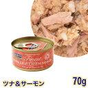 フィッシュ4キャット ウェットフード 猫缶 ツナ&サーモン 70g (29657)