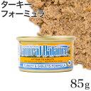 ナチュラルバランス ターキー キャット缶 85g (02509)