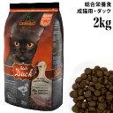 レオナルド ドライフード 成猫用 ダック&ライス 2kg (55223) LEONARDO ドイツ プレミアムキャットフード ナチュラル…
