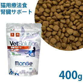 VetSolution(ベッツソリューション) 成猫用 腎臓サポート グレインフリー(穀物不使用) 療法食 400g (21513) ドライフード
