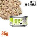 Pet Kind ペットカインド カナダフレッシュ ビーフ 85g缶 (93038) 猫用 ウェットフード