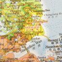 [5,000円以上送料無料]中国地図 中国全図 中国語版 (中文・英文) 955×1500 中国地図出版社 [メ1] M39M【RCP】