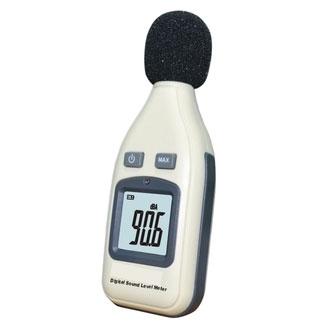 メール便等送料無料 デジタル小型騒音計 日本語説明書付属 【文具誌で紹介されました】 サウンドレベルメーター 防風スポンジ付属・最大値表示機能 騒音測定器 計測器 音量 音圧 SPL測定器 大声コンテスト M39M【RCP】