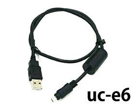 ニコン用 互換USBケーブル uc-e6 100cm パソコンとカメラを繋ぐ ニコン製カメラ データ移行 急速充電 高耐久 ブラック デジカメ/行楽/行事/運動会 M39M
