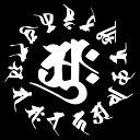 【梵字ステッカー小】カラー10種類/車の給油口などに/車ステッカートラック/サーフィン/バイクステッカー/防水/カッテ…