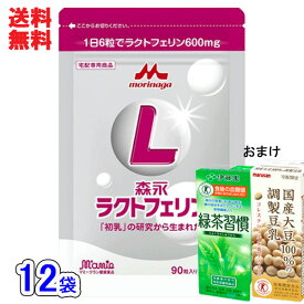 森永ラクトフェリン[送料無料]90粒入x12袋セット(6ヶ月分)森永ラクトフェリン正規販売店