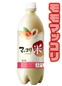 桃マッコリ750ml 麹醇堂(クッスンダン)米マッコリ 桃味 ももマッコリ モモマッコリ マッコルリ 常温便・クール冷蔵便可