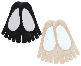 5本指ソックス シルク 絹 5本指フットカバー S(22-23.5cm),M(24-25.5cm),L(26-27cm)【8130】五本指 靴下 レディース メンズ 日本製
