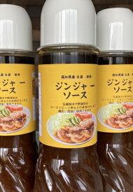 京都イタリアン欧食屋Kappaの高知県産生姜ジンジャーソース レギュラーサイズ