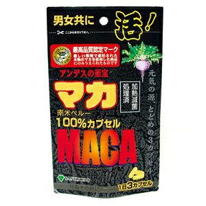 マカ 増大サプリ マカ100% 45カプセル 男性 サポート サプリメント メール便 送料無料 n201100