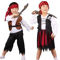 海賊仮装子供用コスチュームキッズ服ハロウィン衣装パーティーグッズ演出服子供服コスプレ衣装キッズハロウィン男の子女の子子供女の子服パーティー用リトル海賊演出服子供用キッズコスチューム海賊服イラスト