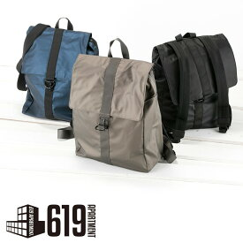 882b358fe464 メンズ レディース シンプル スクウェアリュック ポケットいっぱい バックパック ビジネス 通勤 通学