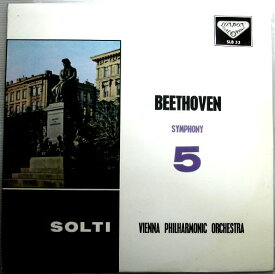 【中古LPレコード】ベートーヴェン 交響曲 第5番 ハ短調、作品67 「運命」