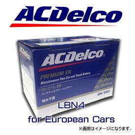ACデルコ バッテリー LBN4 アメ車 ダッジ チャージャー マグナム クライスラー 300C