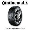 【スタッドレスタイヤ4本セット:送料無料】Continental ContiVikingContact6 265/65R17 Winter Tire for SUV コンチネンタル スタッド…