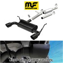 MAGNAFLOW CAT-BACK EXHAUST SYSTEM JEEP WRANGLER UNLIMITED V6 3.6L #19327 マグナフロー JK ラングラー マフラー アメ車