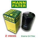 【お買い得2個セット】MANN FILTER マンフィルター W719/45 VW GOLF6 2.0GTI フォルクスワーゲン ゴルフ /AOPOF057