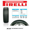 """Pirellistudrestire wheel set of 4 ' PIRELLI Ice Asimmetrico 195 / 65R15 TIRADO-gunmetal 15 x 6.0 J 5H/100 +45 30 of Prius-only 02P01Oct16"