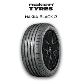 【送料無料】nokian HAKKA BLACK 2 245/40R20 Summer Tire ノキアン サマータイヤ ホンダ シビックTYPER アウディ R8 他
