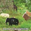 『置き時計・掛け時計』SHADOWS(ゾウ、サイ、シマウマ、ライオン、キリン)