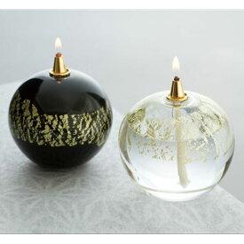 『オイルランプ』津軽びいどろオイルランプ 銀河、天の川 【即納】 芯 クリスマス プレゼント【楽ギフ_包装選択】
