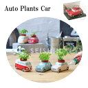 栽培セット Auto Plants Car ミニカー ミニバス 【即納】 栽培キット 植物 グリーン ハーブ ワイルドストロベリー バ…
