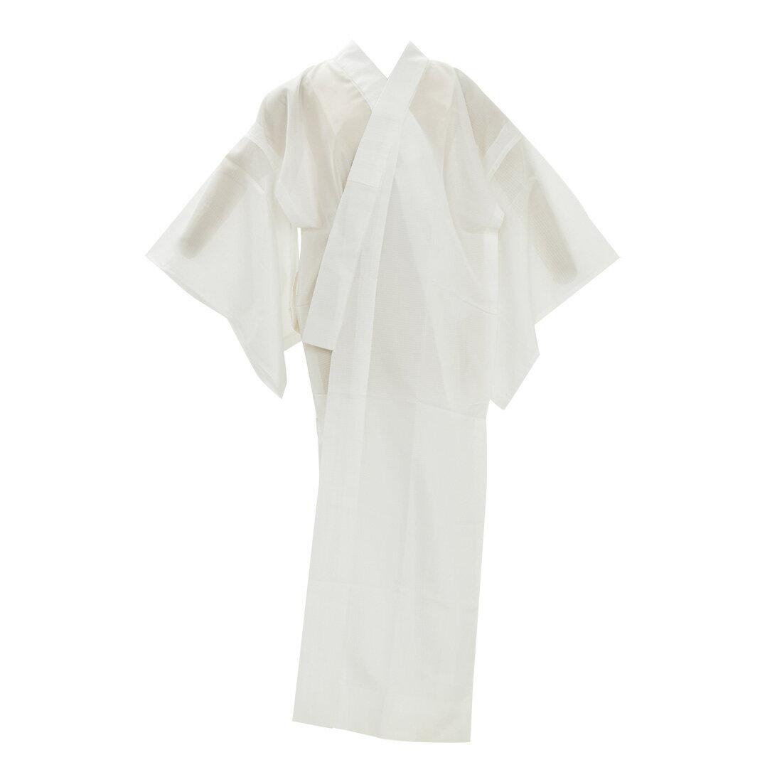 【襦袢/夏用】平絽 洗える長襦袢/単衣・薄物用 白 お仕立て上がり品【宅配便のみ】『10』在庫品