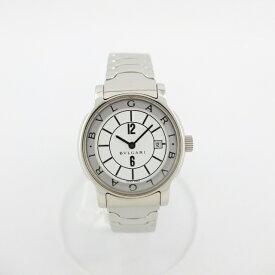 ブルガリ BVLGARI ソロテンポ ST29S レディース 腕時計 白文字盤 【中古】
